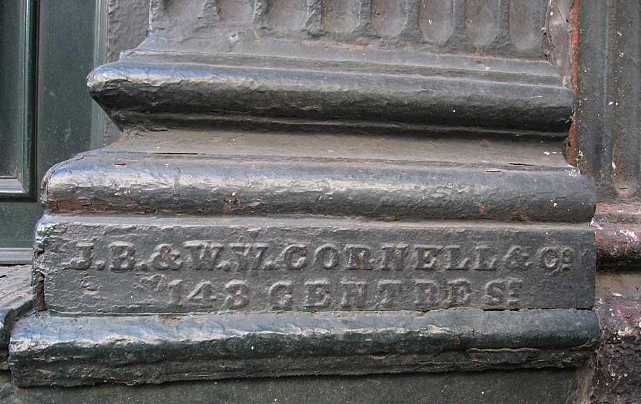 J B W W Cornell